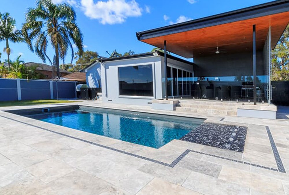 Travertine Paving Inspirations for Your Newcastle Home