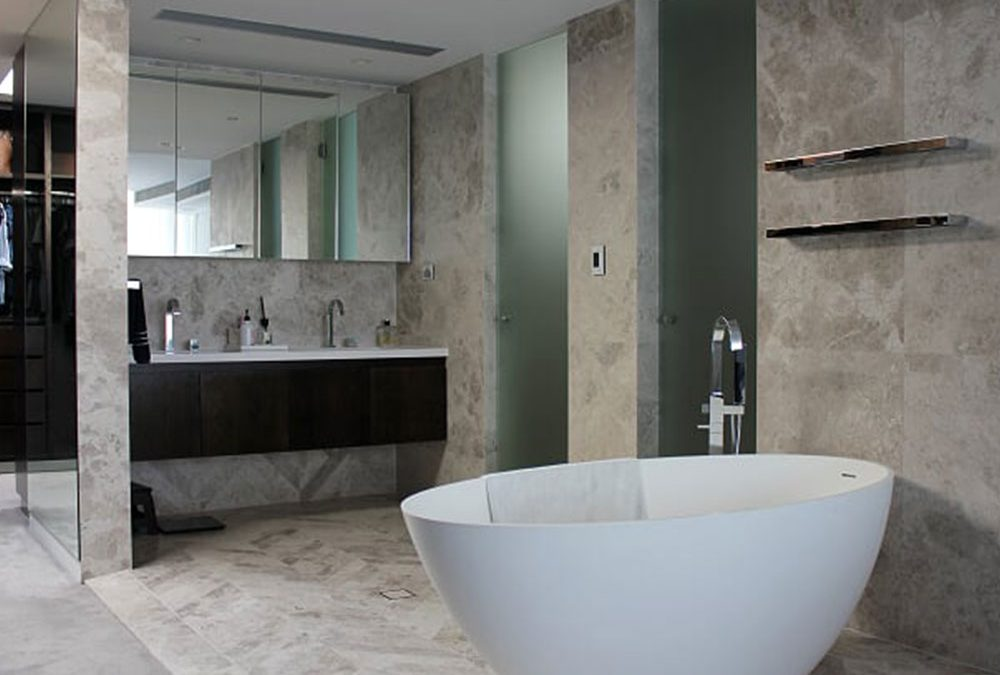 Renovating your bathroom using marble