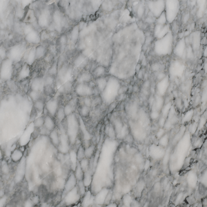 Close up picture of arctic white honed slab in order for customers to get a better look at the stone